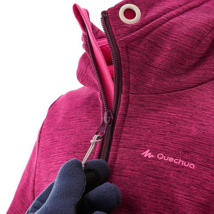 Fleecevest voor meisjes Hike 550 roze