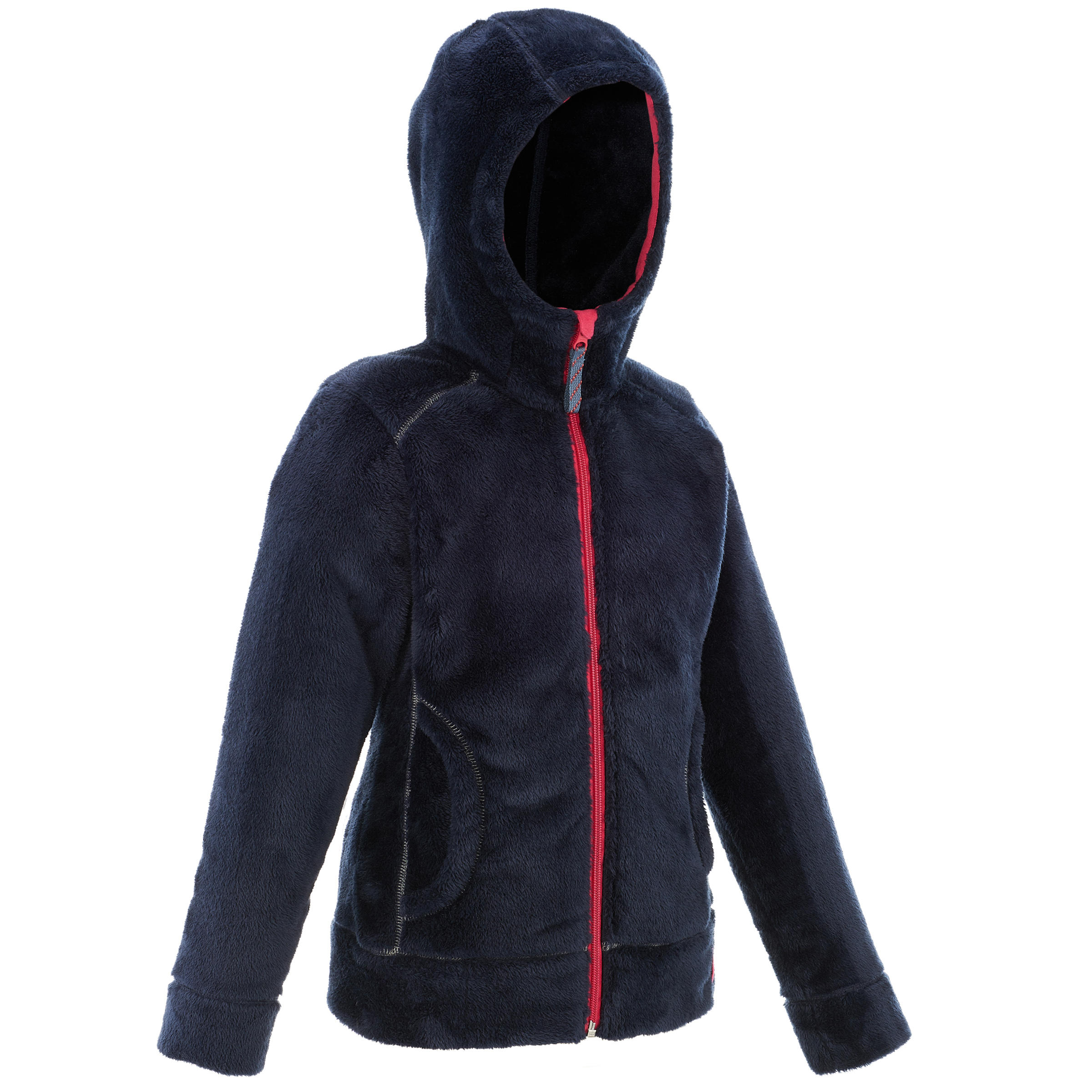 SH100 Warm Child's Snow Hiking Fleece Jacket -Blue