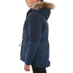 Warme en waterdichte meisjesjas voor trekking XX Warm - 1008247