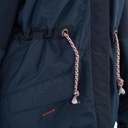 Warme en waterdichte meisjesjas voor trekking XX Warm - 1008256