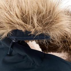 Warme en waterdichte meisjesjas voor trekking XX Warm - 1008287