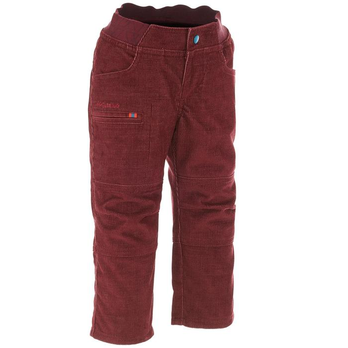 quechua pantalon de randonn e enfant gar on hike 500. Black Bedroom Furniture Sets. Home Design Ideas