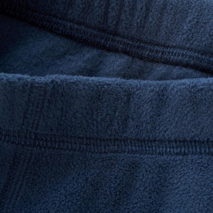 2至6歲兒童款刷毛健行長褲MH100-軍藍色