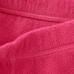 2至6歲兒童款刷毛健行長褲MH100-粉紅色