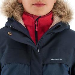 Warme en waterdichte meisjesjas voor trekking XX Warm - 1008322