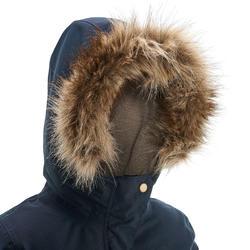 Warme en waterdichte meisjesjas voor trekking XX Warm - 1008368