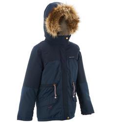 Warme en waterdichte meisjesjas voor trekking XX Warm - 1008377