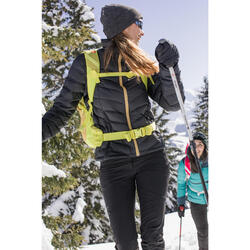 Doudoune Duvet de trek montagne - Trek 500 Noire - Femme