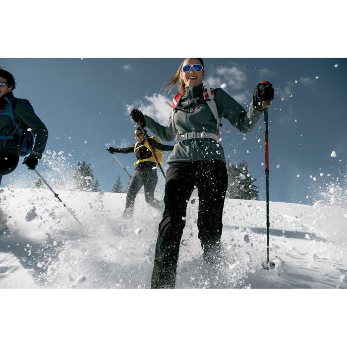 Veste trekking WindWarm 300 softshell femme grise - 1008678