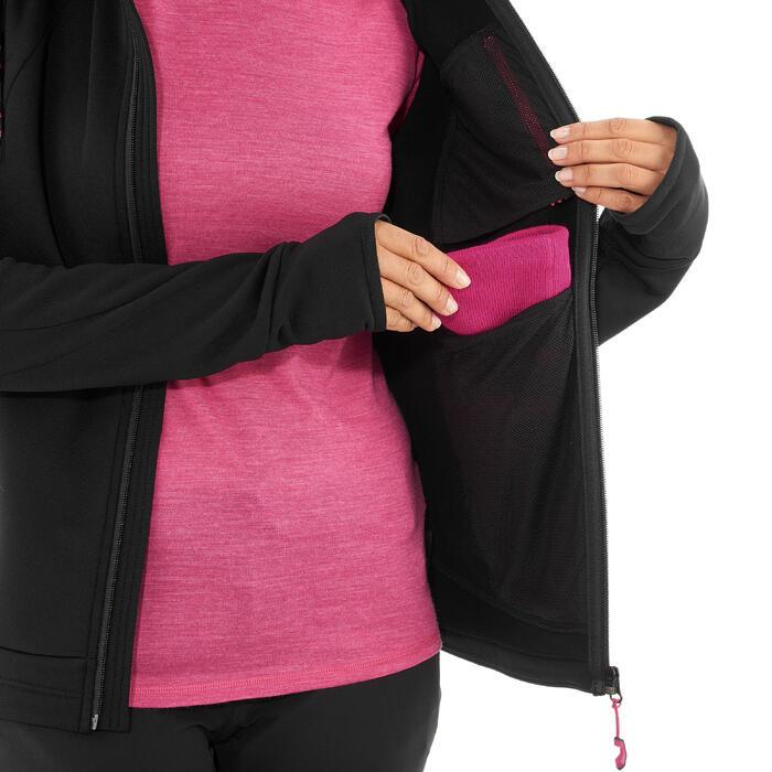 Veste polaire de randonnée montagne femme Forclaz 400 stretch - 1008700