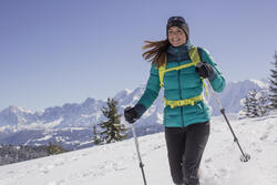 Damesdonsjack trekking Top Warm - 1008776