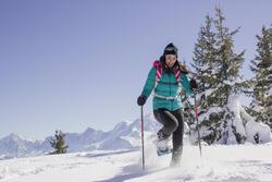 Damesdonsjack trekking Top Warm - 1008825