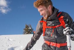 Heren softshell jas voor trekking WindWarm 800 Hybrid - 1008835