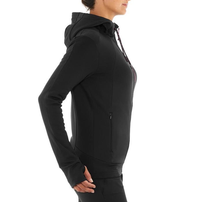 Veste polaire de randonnée montagne femme Forclaz 400 stretch - 1008845