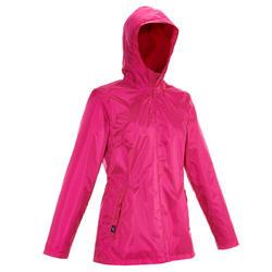Damesjas voor trekking RainWarm 50 - 1008848