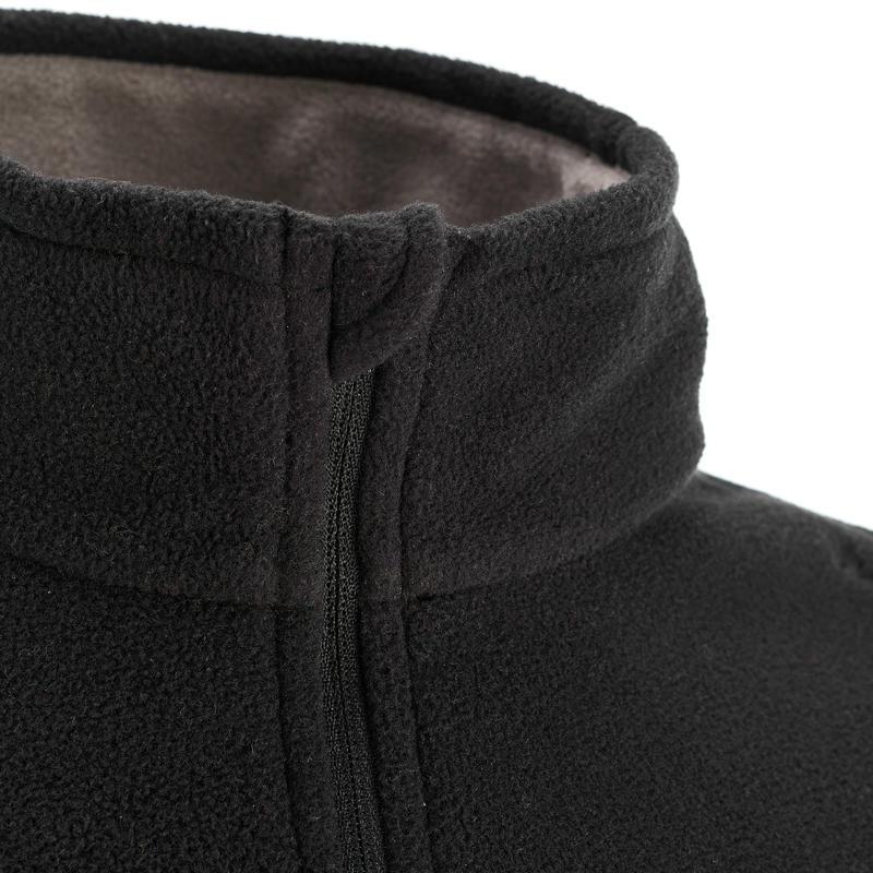 Forclaz 50 Men's Mountain Hiking Fleece - Black