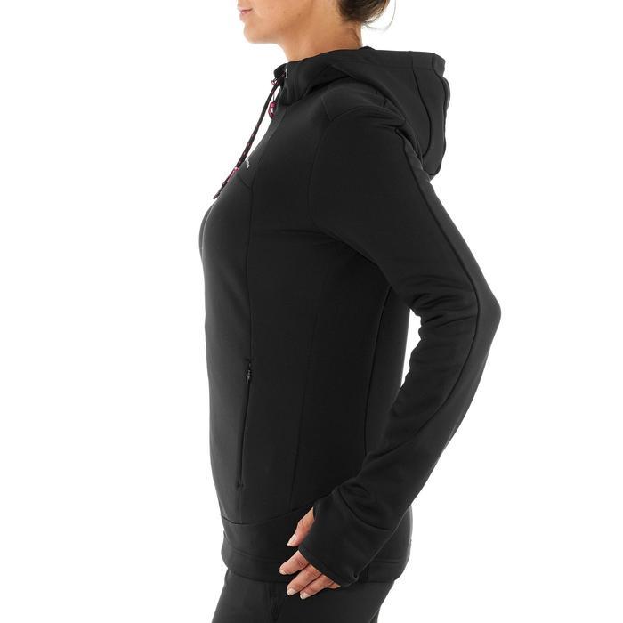 Veste polaire de randonnée montagne femme Forclaz 400 stretch - 1008867