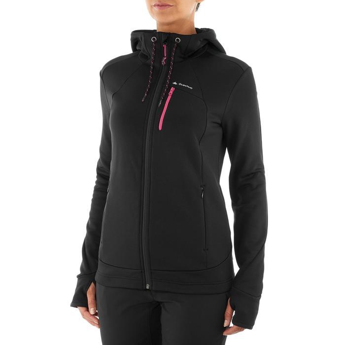Veste polaire de randonnée montagne femme Forclaz 400 stretch - 1008883