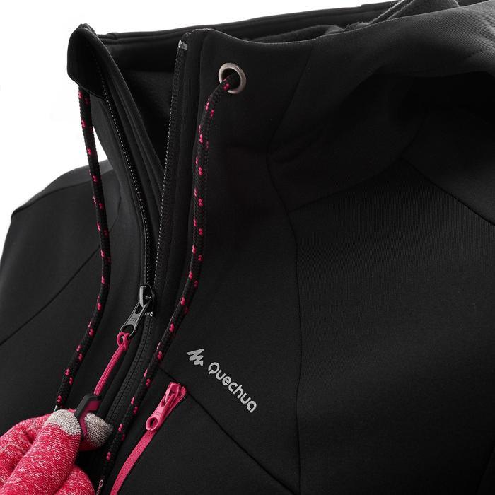 Veste polaire de randonnée montagne femme Forclaz 400 stretch - 1008908