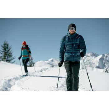 Chaqueta acolchada trekking en montaña TREK 900 hombre negro
