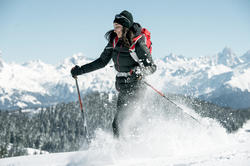 Damesdonsjack trekking Top Warm - 1008932
