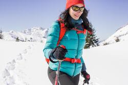 Damesdonsjack trekking Top Warm - 1008978