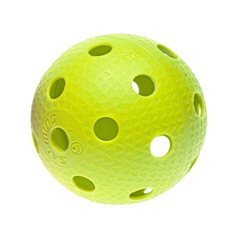 Floorball ütők és kiegészítők USA csapatsportok, rögbi, floorball - FLOORBALL LABDA SZÍNES SALMING - Floorball
