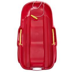 Trineo 2 plazas con freno MRZ 100 rojo