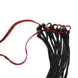 Red para heno equitación negro