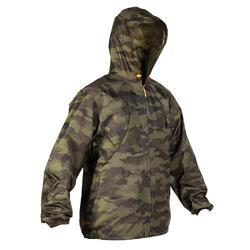 狩獵防水外套LIGHT 100-迷彩