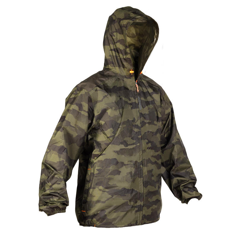 Waterproof Light Hunting Jacket - Camo