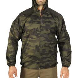 Jagd-Regenjacke Light 100 Herren camouflage