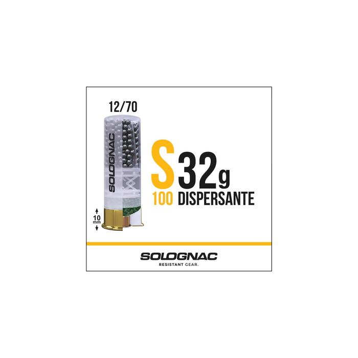 Cartucho CALIBRE 12 S100 32 g Dispersante perdigón 8 x25