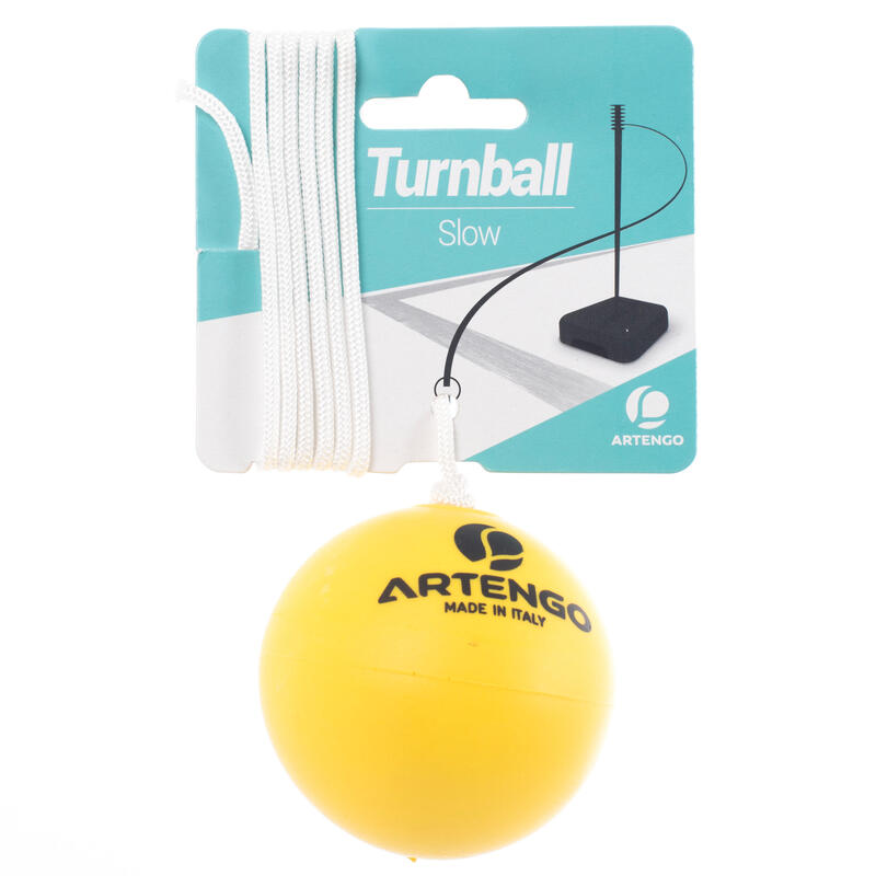 "Pelota de Speedball ""TURNBALL SLOW BALL"" espuma amarilla"