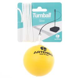 Pallina in schiuma speedball TURNBALL SLOW BALL gialla