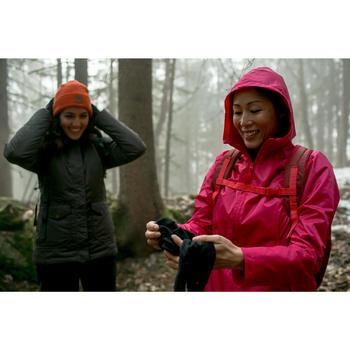 Chaqueta de senderismo por la nieve para mujer SH100 cálida negro