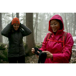 Warme waterdichte wandeljas voor de sneeuw dames SH100 warm paars