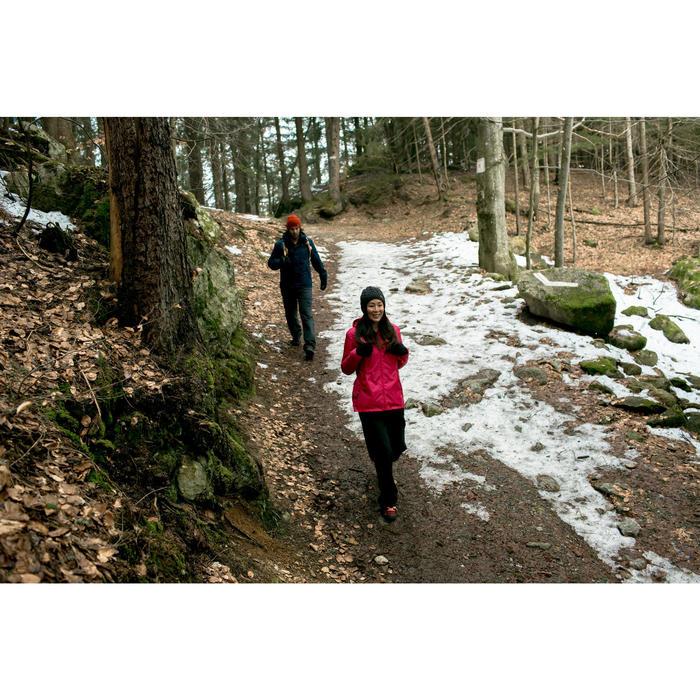 Heren wandeljas voor de sneeuw SH100 Warm marineblauw