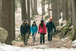 Herenparka voor trekking Rain X-Warm 700 - 1009979