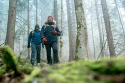 Herenparka voor trekking Rain X-Warm 700 - 1010026