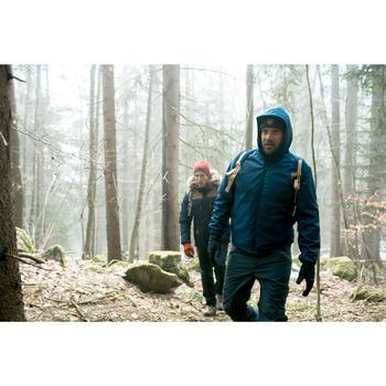 Wanderjacke Winterwandern SH100 Warm Herren blau