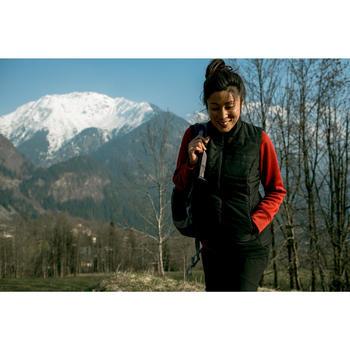 Gilet (doudoune sans manche) randonnée nature femme NH100 noir