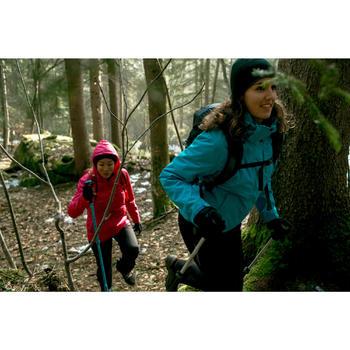 Rainwarm 100 Women's 3-in-1 Trekking Jacket - Blue