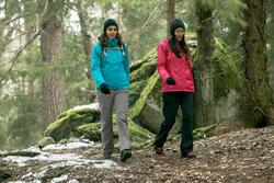 Damesjas voor trekking RainWarm 50 - 1010047