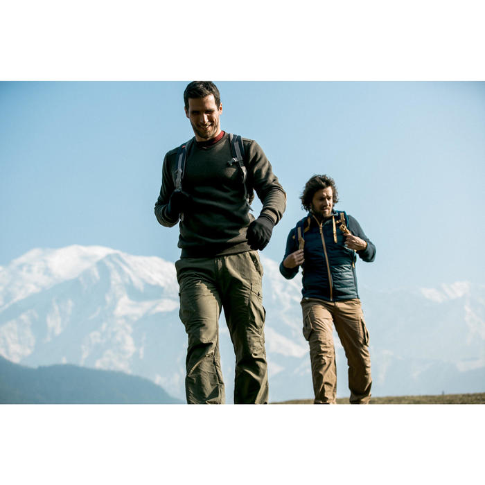 Polaire de randonnée montagne homme MH20 - 1010060