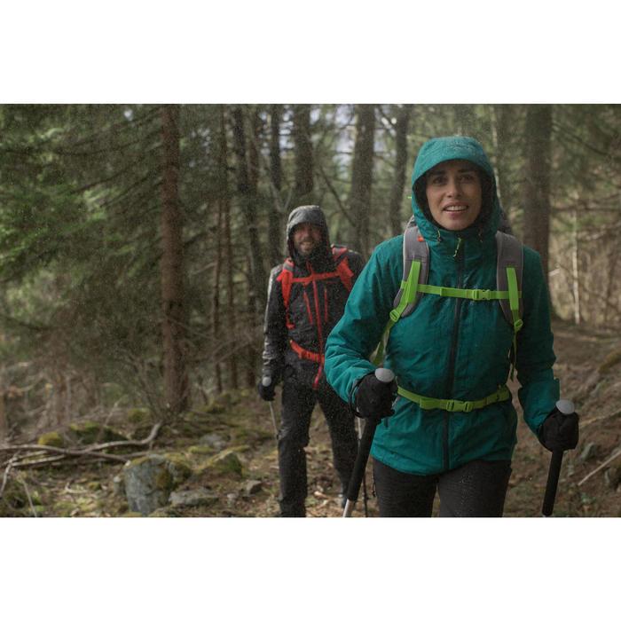 Veste trekking Rainwarm 500 3en1 femme noir