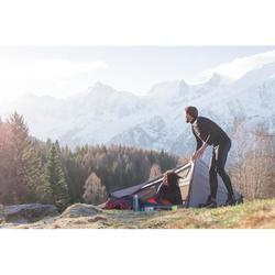 Collant trekking montagne homme TECHWOOL190 noir