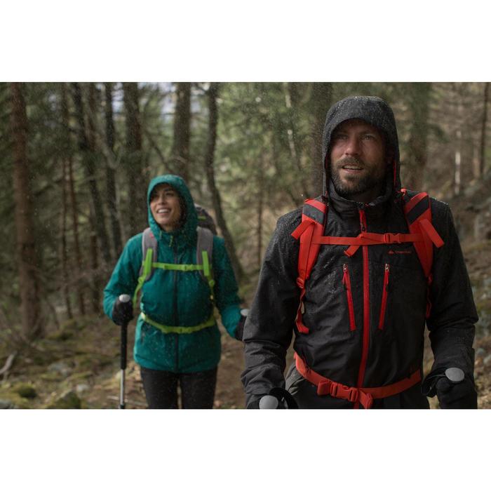 Veste trekking Rainwarm 500 3en1 femme - 1010096