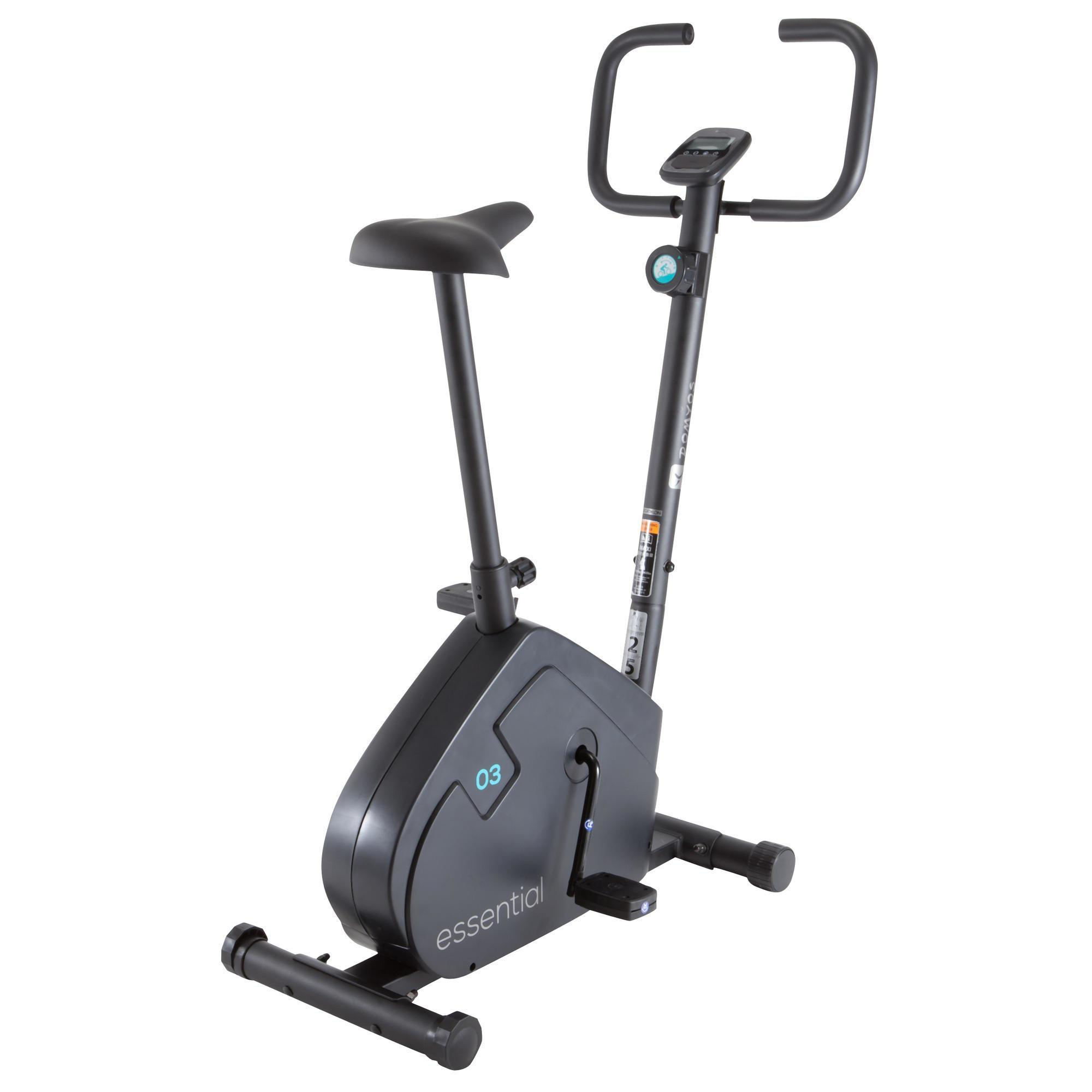 essential exercise bike domyos by decathlon