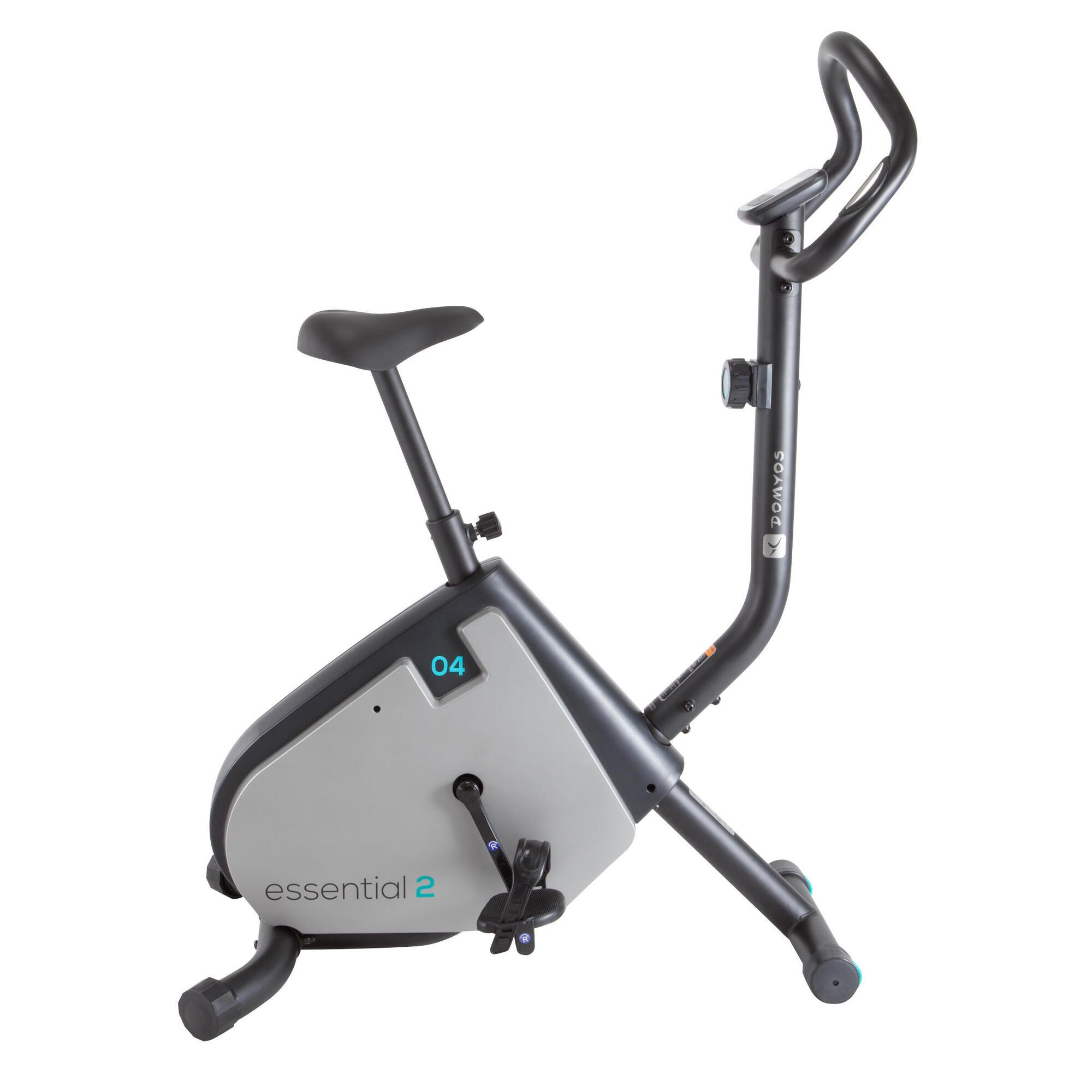 essential 2 exercise bike domyos by decathlon